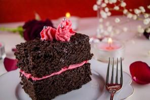 Dessert vegan de St Valentin : une histoire à l'eau de rose