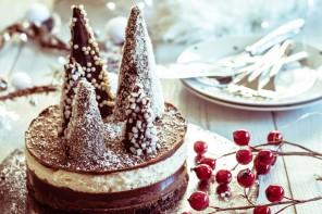 Trilogie de Noël : un gâteau vegan pour les fêtes